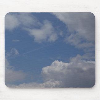 Clouds & Blue Sky Mouse Pad