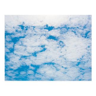 Clouds Blue Sky Postcard