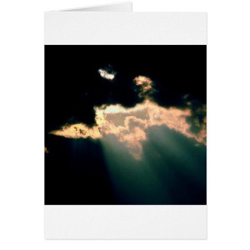 Clouds Break Columbus Indiana Card