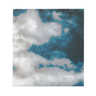 Clouds changing notepad