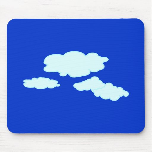 Clouds clouds mouse pad