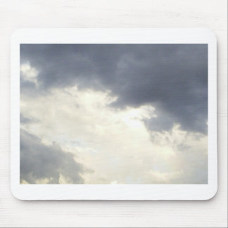 Clouds design mouse pads