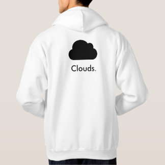 Clouds Frosted Hoodie