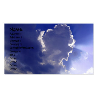 Clouds Greeting Card Business Card Templates