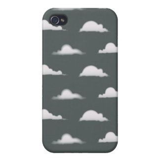 clouds grey iPhone 4 covers