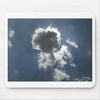 Clouds in a Blue Sky Mousepads