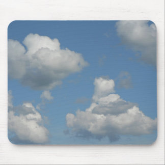 Clouds in Blue Sky Mousepad