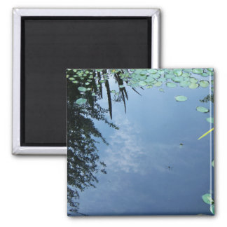 Clouds in Pond Magnet
