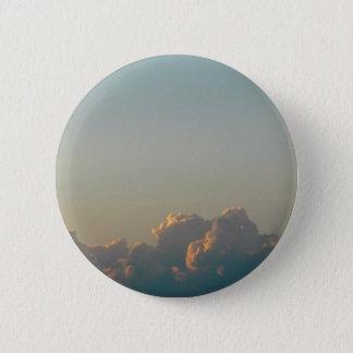 clouds in romania 6 cm round badge
