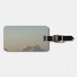 clouds in romania luggage tag
