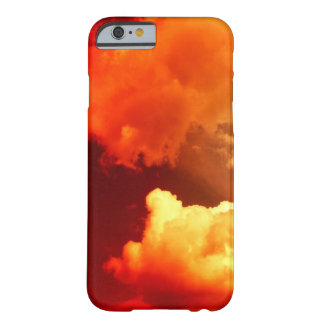 CLOUDS IN THE RED SKY BARELY THERE iPhone 6 CASE