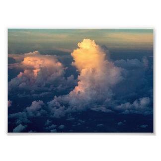Clouds in the sky Cloudscape Photo Print