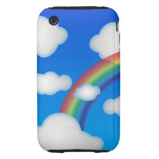 clouds iPhone 3 tough case