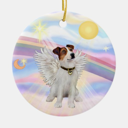 Clouds - Jack Russell Terrier Christmas Tree Ornaments