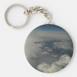 clouds key chain