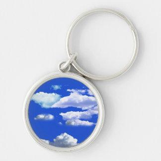 Clouds Keychain