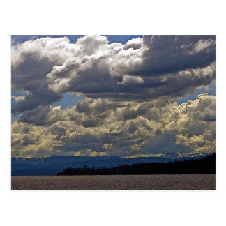 Clouds, Lake Tahoe Postcard