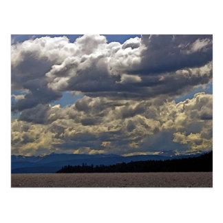 Clouds, Lake Tahoe Postcard