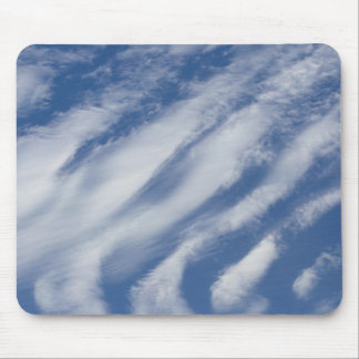 clouds lay down mouse pad