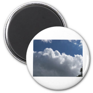 clouds refrigerator magnet