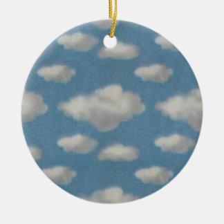Clouds Memorial Ornament