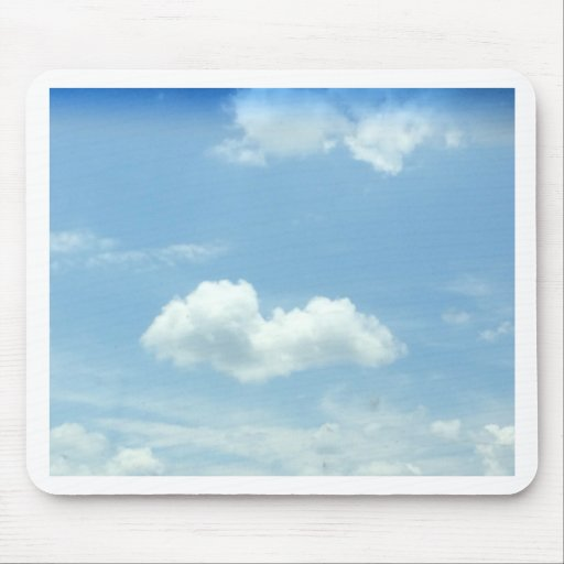 Clouds Mouse Pads
