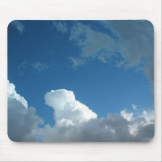 clouds mouse mats