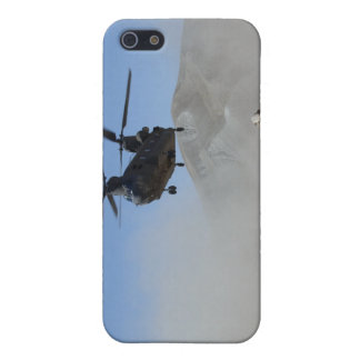Clouds of dust kicked up by the rotor wash iPhone 5 covers