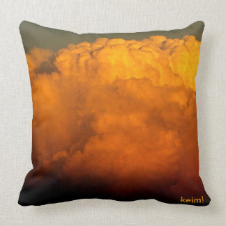Clouds of Many colors Cushion
