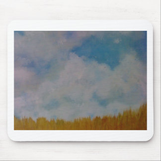 Clouds on things mouse pad