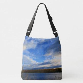 Clouds Open Up Crossbody Bag