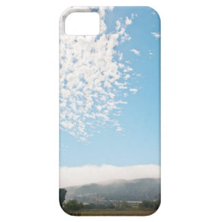 Clouds over a pasture cover for iPhone 5/5S