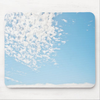 Clouds over a pasture mousepad