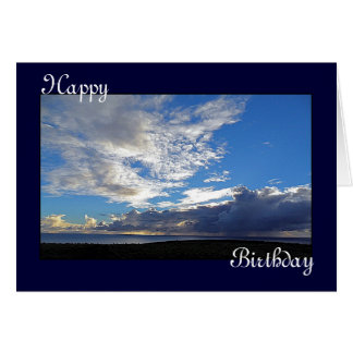 Clouds over Gulf of St Vincent South Australia Card
