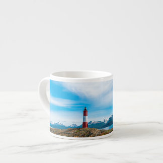 Clouds over lighthouse near Ushuaia, Argentina Espresso Mug