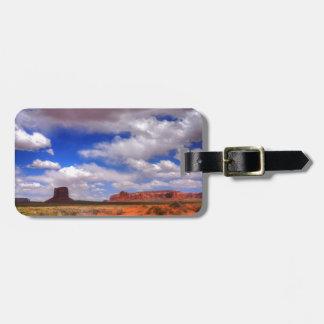 Clouds over Monument Valley, UT Luggage Tag