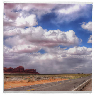 Clouds over Monument Valley, UT Napkin