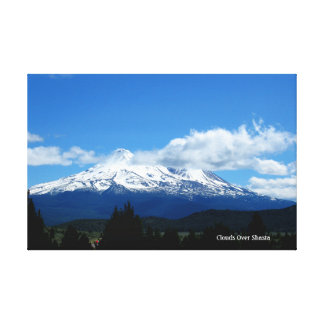 Clouds Over Shasta Canvas Print
