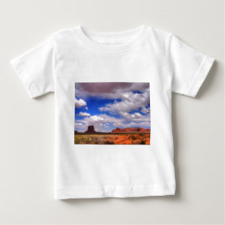 Clouds over the desert baby T-Shirt