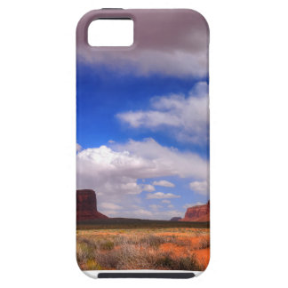 Clouds over the desert iPhone 5 cases