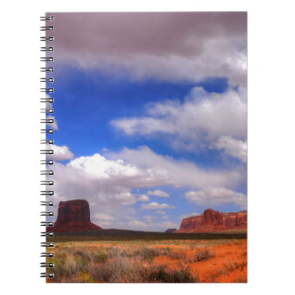 Clouds over the desert notebooks