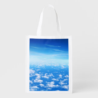 CLOUDS REUSABLE GROCERY BAG