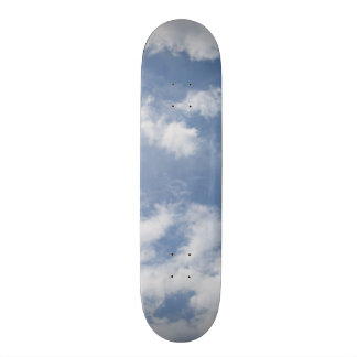 Clouds skateboard
