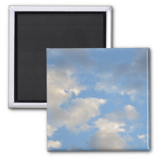 Clouds Square Magnet