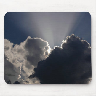 Clouds Suns Rays Mousepad
