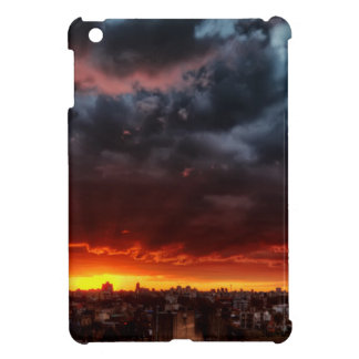 Clouds, Sunset And Red Case For The iPad Mini