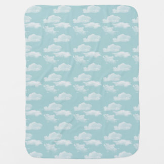 Clouds Swaddle Blankets