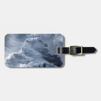 Clouds Temple Luggage Tag
