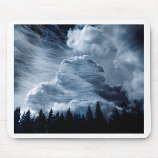 Clouds Temple Mouse Pad