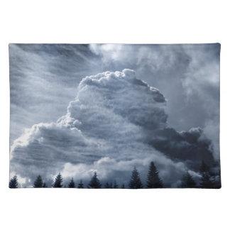 Clouds Temple Placemat